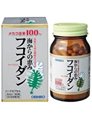 60209192 オリヒロ フコイダン 90粒 毎日のお食事にプラスして健康生活をサポート