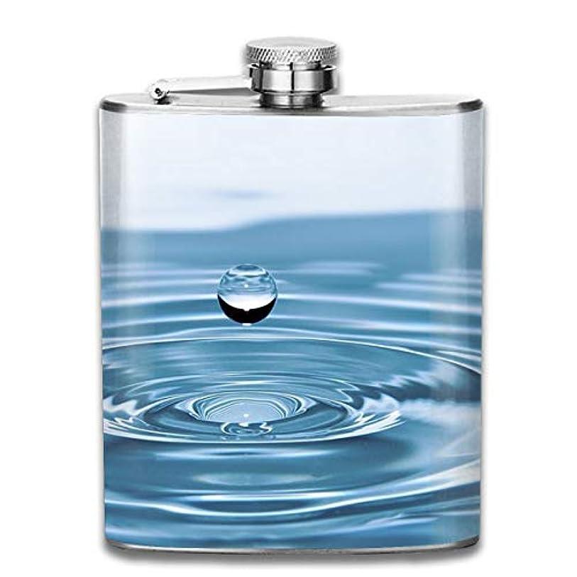 パーセント体現するうれしいブルームン 酒器 酒瓶 お酒 フラスコ 水滴 ボトル 携帯用 フラゴン ワインポット 7oz 200ml ステンレス製 メンズ U型