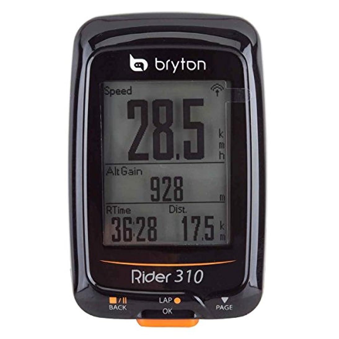 女将ベンチャーカールBryton Rider 310 GPSバイクコンピュータ