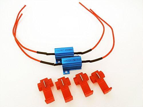 まめ電(MAMEDEN) 警告灯 防止用 メタルクラッド抵抗