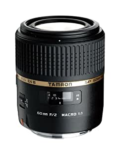 TAMRON 単焦点マクロレンズ SP AF60mm F2 DiII MACRO 1:1 ニコン用 APS-C専用 G005NII