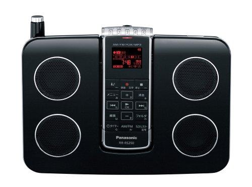 パナソニック ICレコーダー 4GB ブラック RR-RS250-K