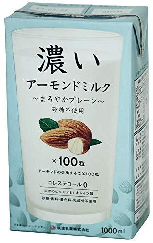 筑波乳業 いアーモンドミルク まろやかプレーン 砂糖不使用 1000g