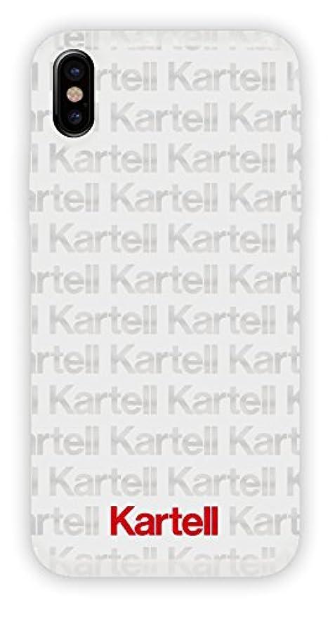 偽装するライン勝つカルテル(Kartell) iphoneX テクスチャ―ソフトケース ホワイト KX-TXTW