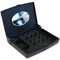 "Storus Smart Jewelry Case Mini - Jewelry Case, Black, 4.5 x 3.7 x .9"", 1 Count [並行輸入品]"