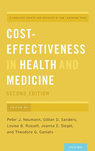 Download Cost-Effectiveness in Health and Medicine 0190492937