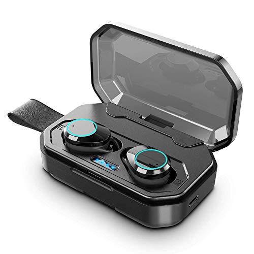 【2019最新版 Bluetooth5.0 HiFi高音质】 Bluetooth イヤホン IPX7完全防水 72時間連続駆動 AAC8.0対応 CVC...