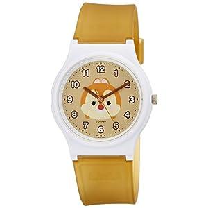 [シチズン キューアンドキュー]CITIZEN Q&Q 腕時計 ディズニー コレクション TSUMTSUM デール ウレタンベルト ブラウン HW00-006 ガールズ
