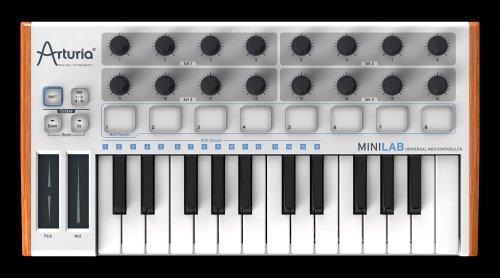 ARTURIA MINILAB MIDIミニキーボード