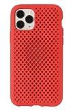 AndMesh iPhone11 Pro ケース Mesh Case 耐衝撃 Qi対応 レッド 612-960731