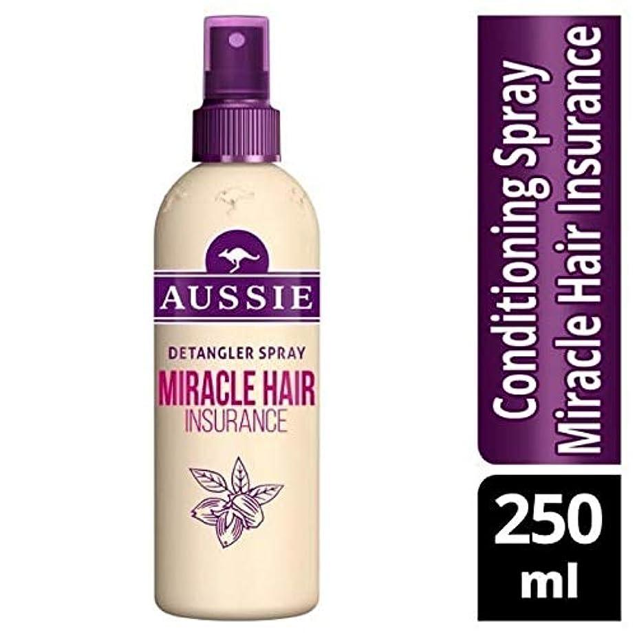 動作しがみつく椅子[Aussie ] オーストラリアの奇跡髪保険Detanglerスプレー250ミリリットル - Aussie Miracle Hair Insurance Detangler Spray 250ml [並行輸入品]