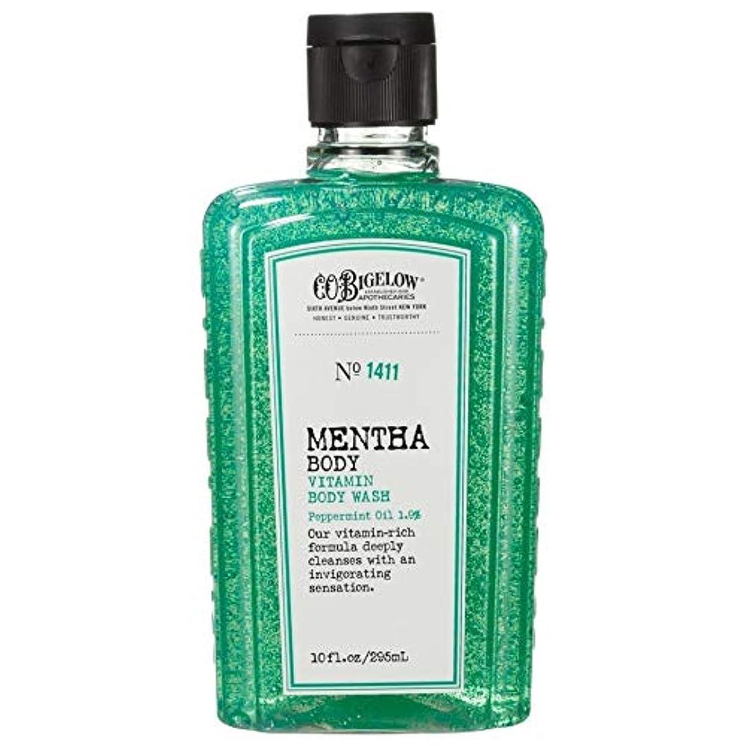 ドリル酸度滅びる[C.O. Bigelow] C.O.ビゲローハッカビタミンボディウォッシュ - C.O. Bigelow Mentha Vitamin Body Wash [並行輸入品]