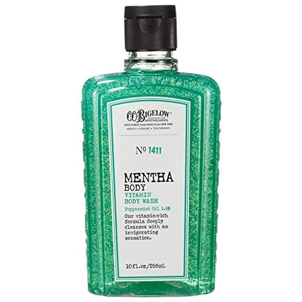 ラフトシェル強制的[C.O. Bigelow] C.O.ビゲローハッカビタミンボディウォッシュ - C.O. Bigelow Mentha Vitamin Body Wash [並行輸入品]