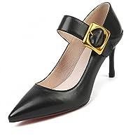 Nine Seven Women's Leather Pointtoe StielltoHeel