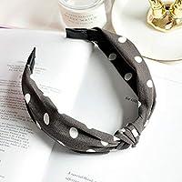 AKDSteel Women Girls Headband Top Knot Turban Headband Cross Bandage Scarf Hair Accessories 20#