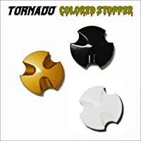OSBE TORNADO専用 凹型カラードシールドストッパー ブラック