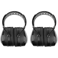Baosity 2 Pack Noise Reduction Ear Muffs Hearing Protection Adjustable Headband Anti-Noise Headphones For Kids Adults