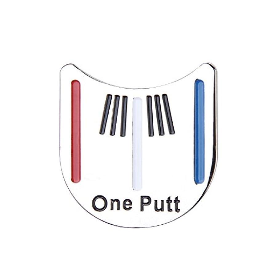 メタンすなわちくぼみ帽子クリップ キャップクリップマーカー ゴルフ 3.2×3.1cm アクセサリー