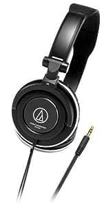 audio-technica ポータブルヘッドホン ATH-SJ5 BK