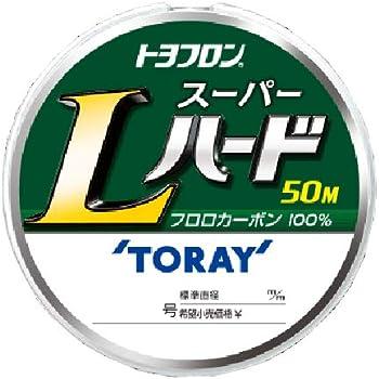 東レ(TORAY) ハリス トヨフロン スーパーLハード フロロカーボン 50m 0.6号 ナチュラル