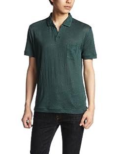 Linen Skipper Polo Shirt 1117-699-1692: Olive
