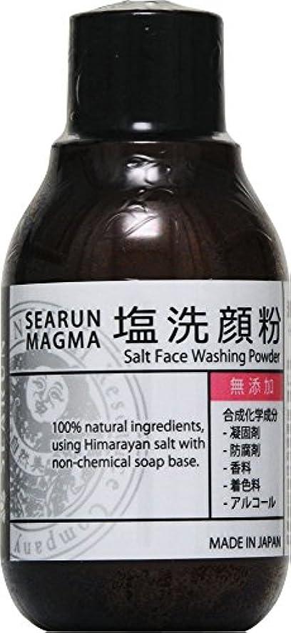 ボイコット仮定、想定。推測潜在的なシーラン マグマ 塩洗顔粉 40g