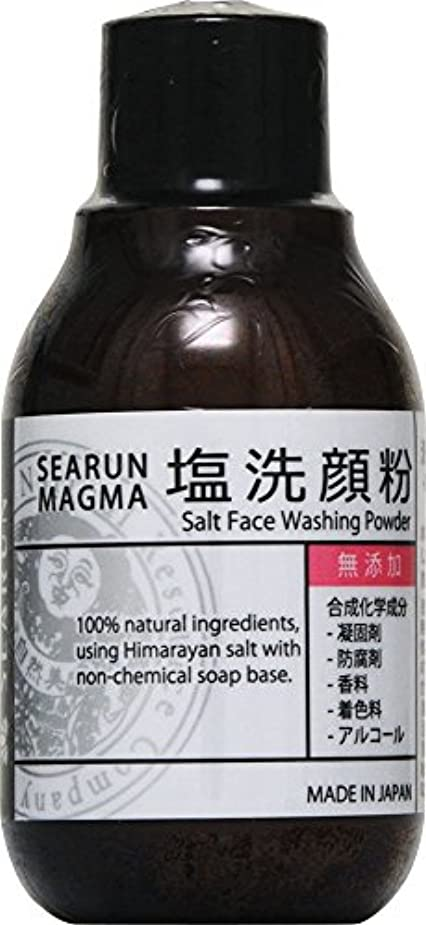 すでに腫瘍シーラン マグマ 塩洗顔粉 40g