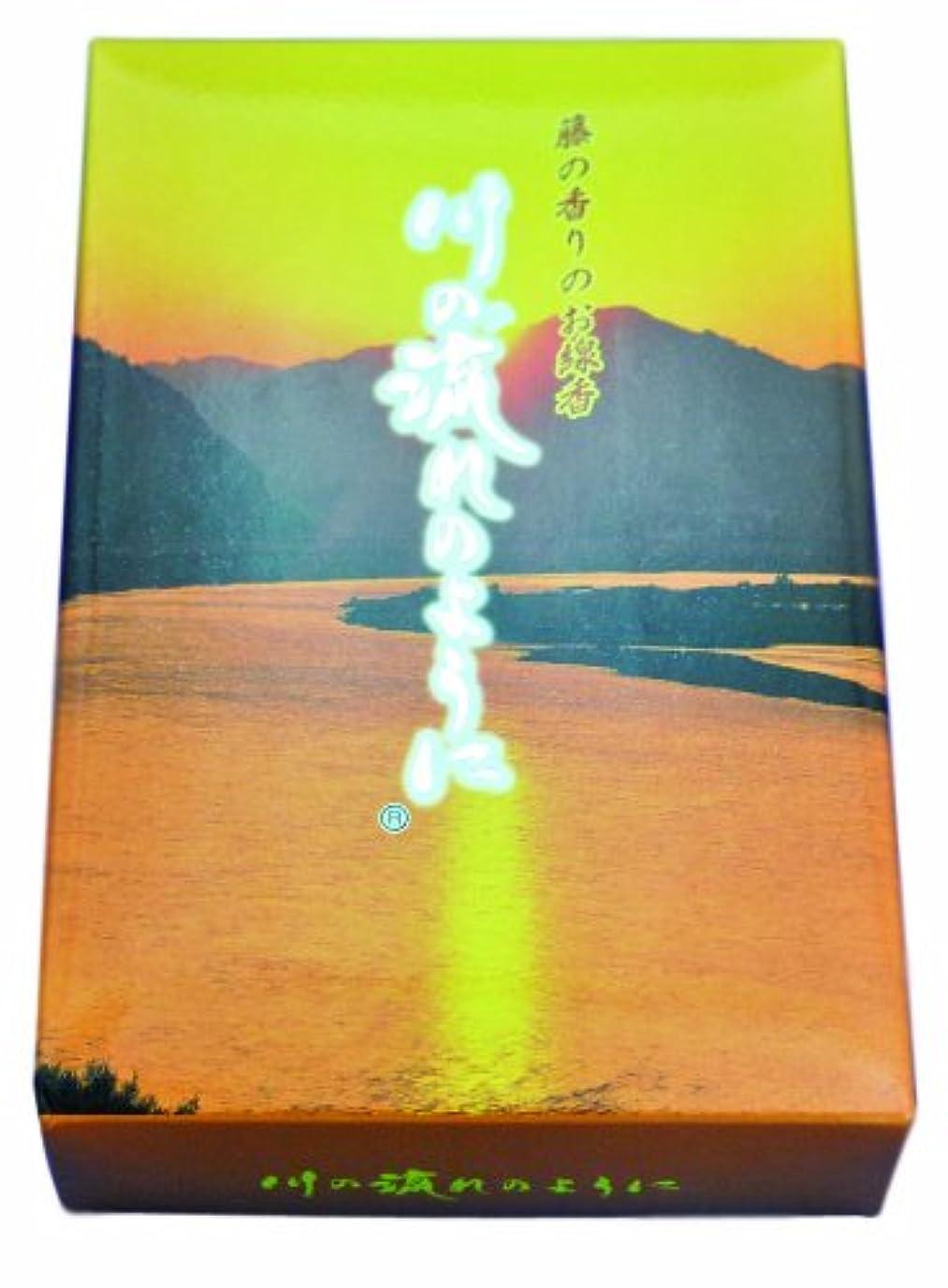 混乱したアウトドア七面鳥お線香 川の流れのように藤の香り 約140g 煙少タイプ