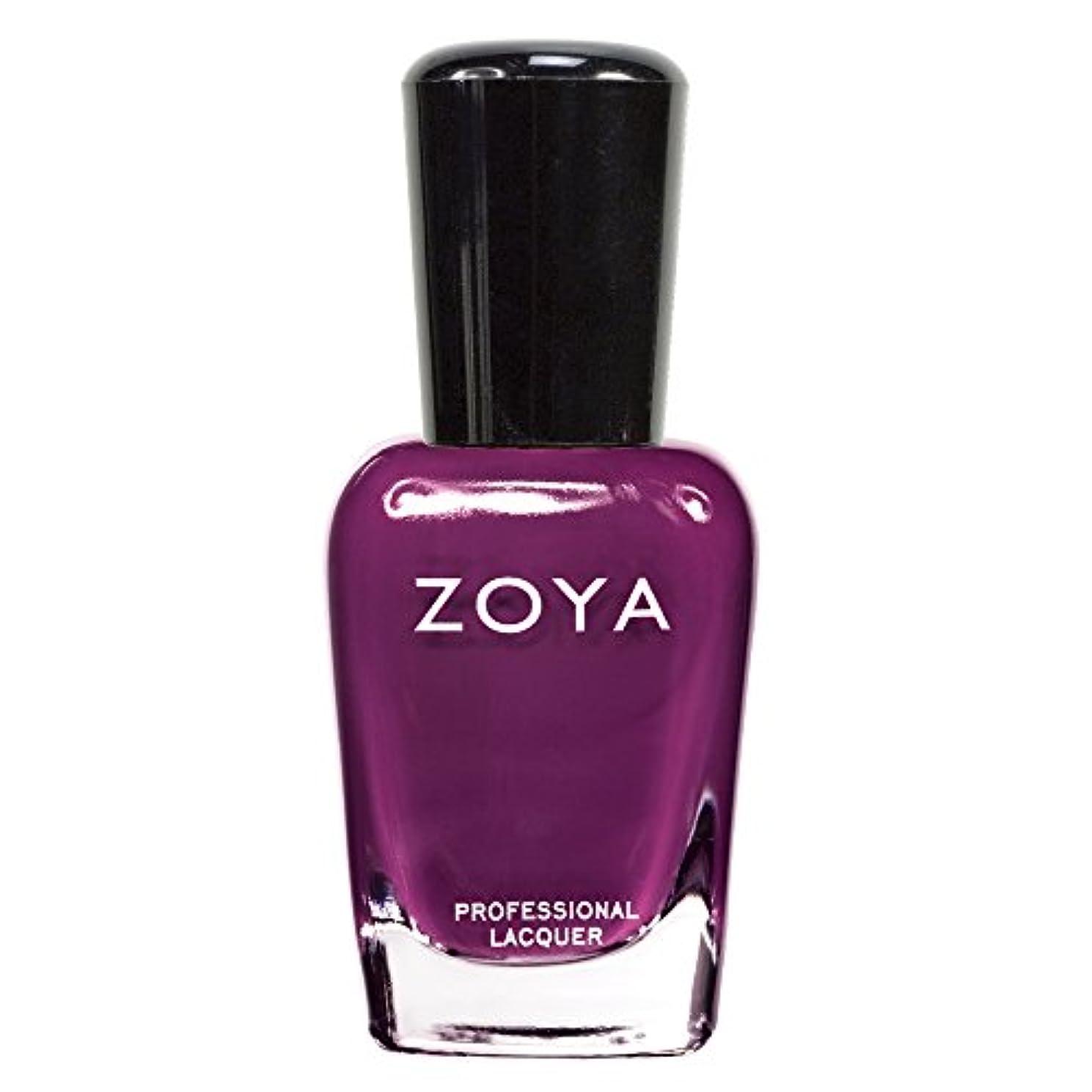 回るほめる単語ZOYA ゾーヤ ネイルカラーZP419 LAEL ラール 15ml 深みのあるワインレッド マット 爪にやさしいネイルラッカーマニキュア