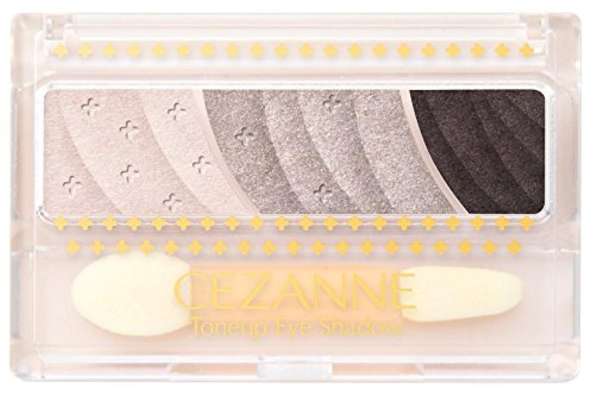 縫う説明的マガジンセザンヌ トーンアップアイシャドウ 03 チャコールブラウン 2.6g