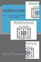 NINEncode: 9 letter word puzzles - VOLUME 2 [並行輸入品]