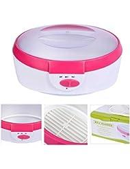 2.5Lパラフィンワックスのヒーターの皮の処置機械高容量の毛の取り外しのパラフィン暖房の鍋のワックスのウォーマーセット,ピンク