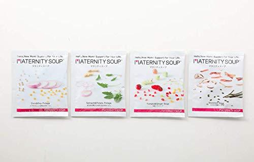 妊娠中のママとおなかの赤ちゃんへの贈りもの ご自宅用マタニティスープ16食入り 葉酸・鉄分・カルシウム配合 妊婦 つわり 食事