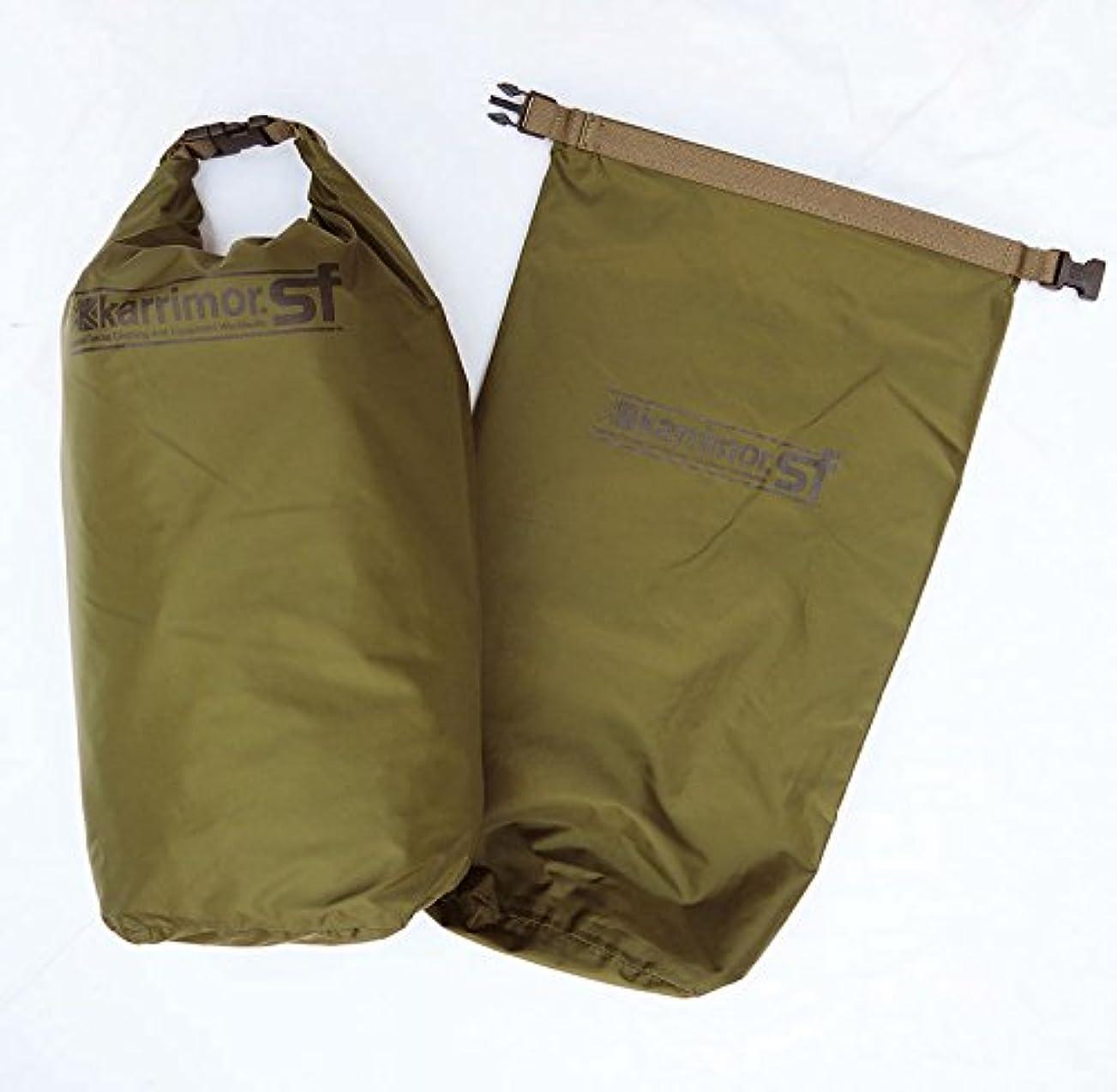 作曲する休日に海港カリマーSF ドライバッグ10ペア(10Lx2個セット) Karrimor Sf Dry Bag Pair 耐水バッグ 耐水袋