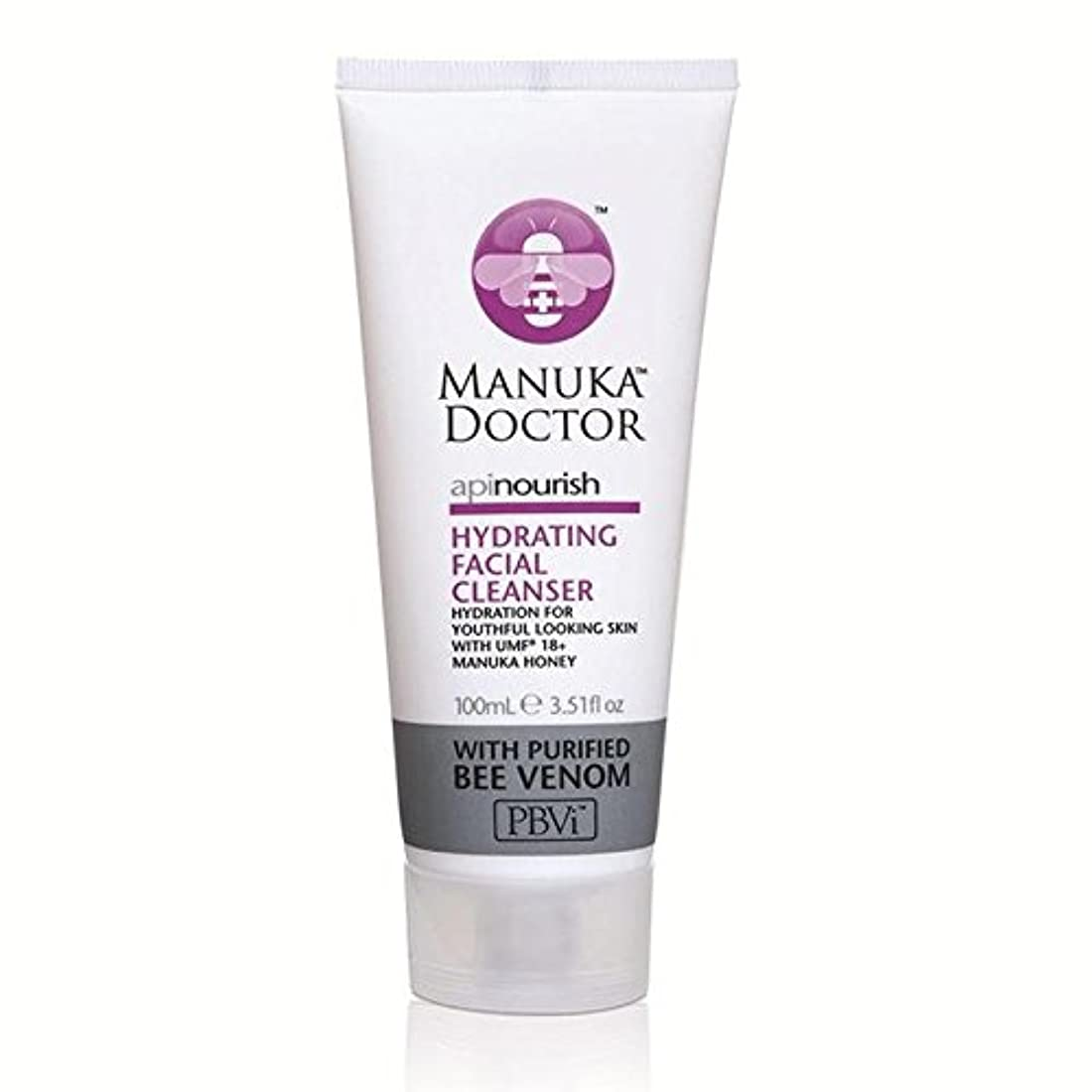 チョークキャッチコマンドManuka Doctor Api Nourish Hydrating Facial Cleanser 100ml (Pack of 6) - マヌカドクター洗顔料の100ミリリットルの水和養います x6 [並行輸入品]
