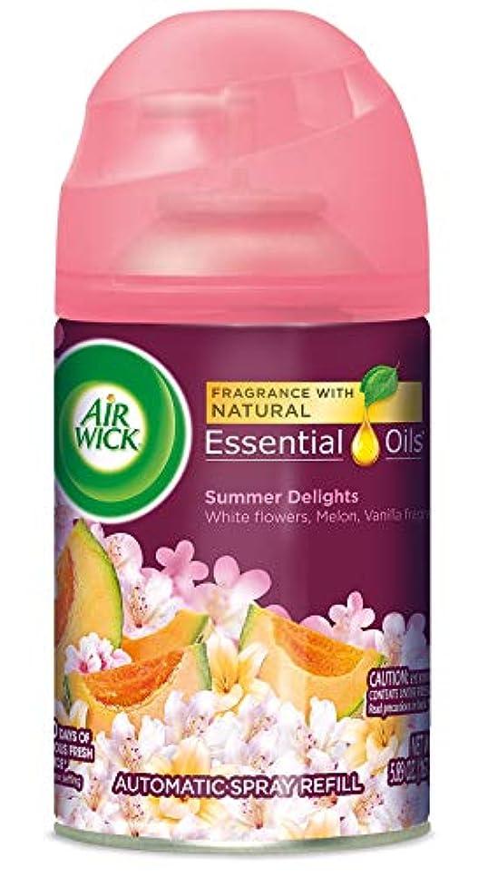 Air Wick ライフ香りFreshmatic詰め替え用自動スプレー、夏の歓喜、6.17オンス、エア?フレッシュナー