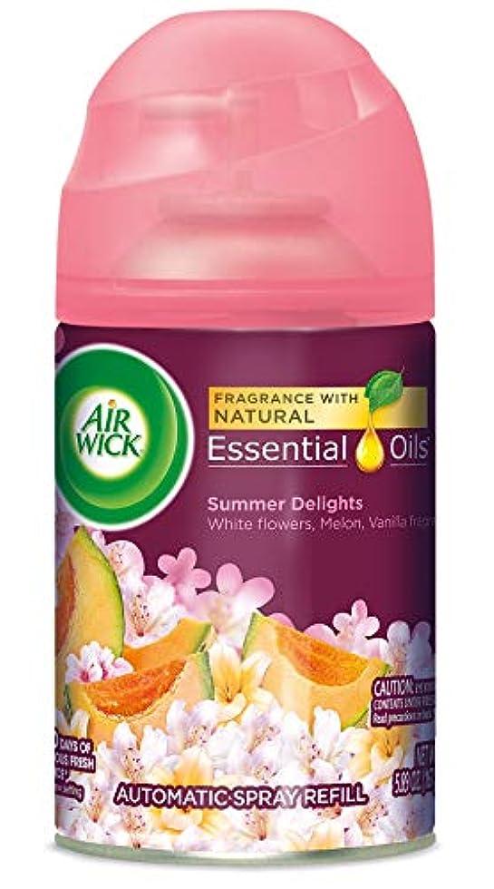 支店割り当てコアAir Wick ライフ香りFreshmatic詰め替え用自動スプレー、夏の歓喜、6.17オンス、エア?フレッシュナー
