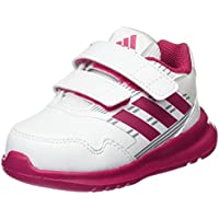 Adidas Baby Girls' Altarun Shoes, Footwear White/Bold Pink/Mid Grey, 24-36 Months (24-36 Months)