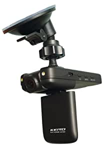 ケイヨウ(KEIYO) ドライブレコーダー モニター付き 監視カメラモード搭載 AN-R007