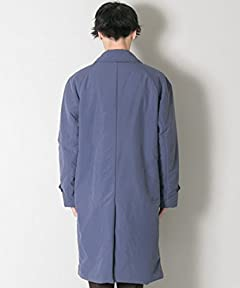 Padded Overcoat UR77-17B009: Navy