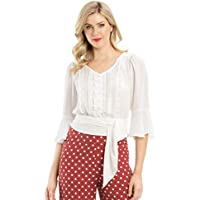 Review Women's Tully Blouse White