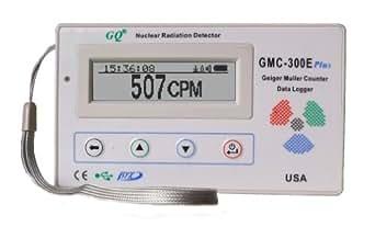 放射能測定器 アメリカNo.1 ベストセラー GQ GMC-300E-Plus Digital Geiger Counter Nuclear Radiation Detector Monitor Meter dosimeter Beta Gamma X ray data logger recorder realtime monitoring test equipment