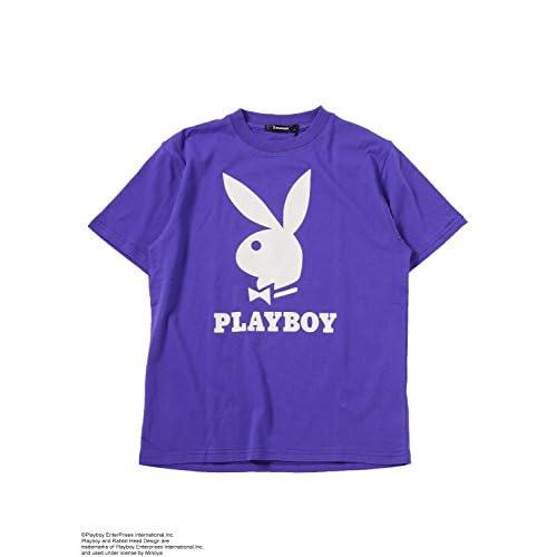 SPINNS PLAYBOY(プレイボーイ)Tシャツ PURPLE80 -