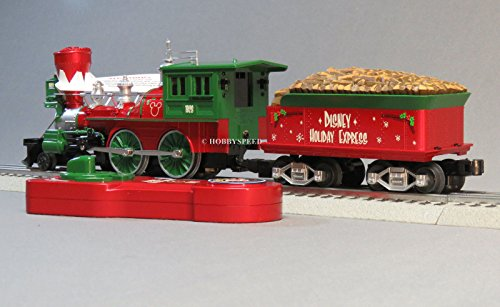 Lionel Disneyクリスマス蒸気エンジン& Tender LionChief RC Train