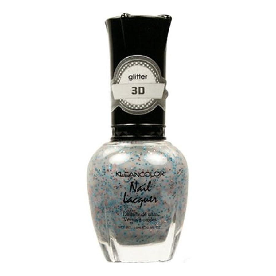 下着受粉者きらめく(6 Pack) KLEANCOLOR 3D Nail Lacquer - Mine & Only (並行輸入品)
