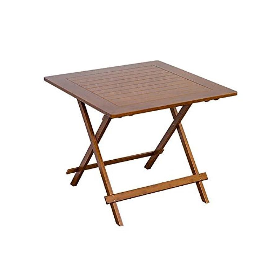 オリエンタルイブ作り上げるテーブル?チェアセット 机 ポータブル 竹 サポート ラップトップ 遊びます ゲーム ダイニング ノート 折りたたみ 便 ピクニック 釣り CJC (色 : T8)