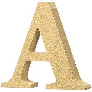 マルカイコーポレーション インテリア オブジェ アルファベット レター 木製 A