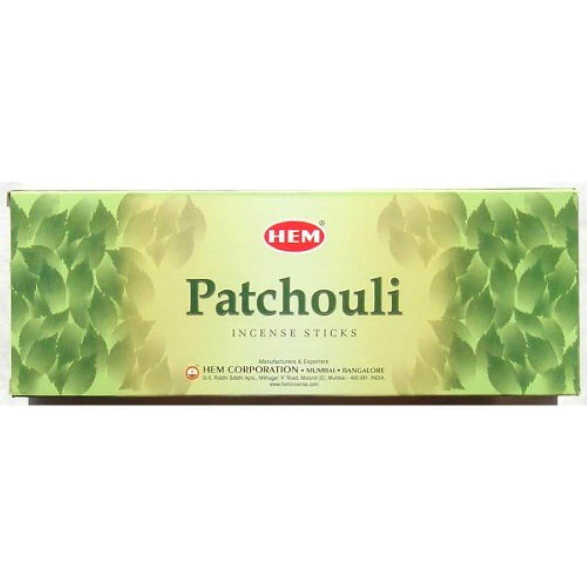 繕うジャケット石膏Patchouli Incense – 裾20スティック六角チューブ – のセットで販売4チューブ