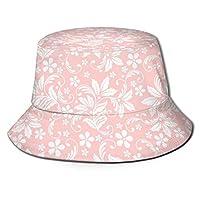 Nehechi 花の陰影 バケットハット キャップ 帽子 スウェット ワークキャップ 男女兼用 登山 釣り ゴルフ 運転 紫外線対策