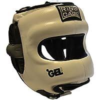 デラックスFull Face GelTech Sparring Headgearの合成レザーボクシング、ムエタイ、MMA , Kickboxing